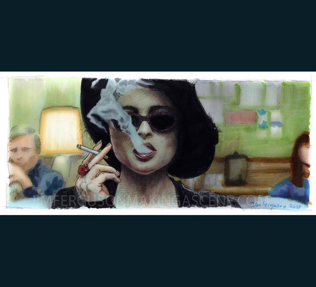 Fight Club - Marla Poster Print By Jim Ferguson