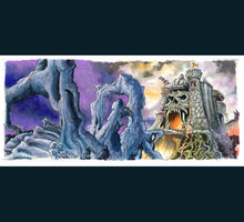 Load image into Gallery viewer, Heman - Castle Greyskull Poster Print By Jim Ferguson