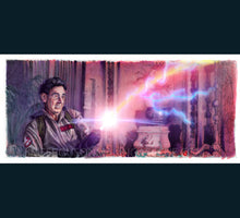 Load image into Gallery viewer, Ghostbusters - Nice Shootin Tex Art Print By Jim Ferguson