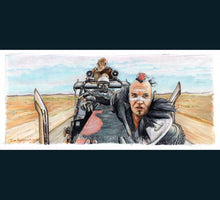 Load image into Gallery viewer, Mad Max - The Road Warrior - Wez  Print By Jim Ferguson