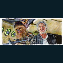 Load image into Gallery viewer, Star Wars - Chewie We're Home  Poster Print By Jim Ferguson
