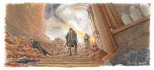 Load image into Gallery viewer, Game of Thrones - The Hound vs The Mountain Print By Jim Ferguson