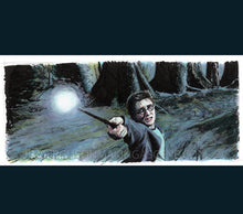 Load image into Gallery viewer, Harry Potter - Expecto Patronum Print By Jim Ferguson