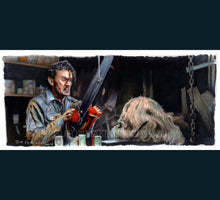 Load image into Gallery viewer, Evil Dead 2 - Ash Please don't hurt me Art Poster Print By Jim Ferguson