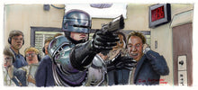 Load image into Gallery viewer, Robocop - Art Print Movie Poster By Jim Ferguson