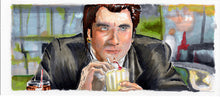 Load image into Gallery viewer, Pulp Fiction - I Gotta Know what a 5 Dollar Shake Taste Like Art Print By Jim Ferguson