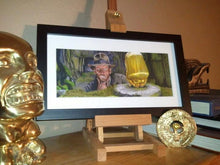 Load image into Gallery viewer, Indiana Jones - Idol Poster Print By Jim Ferguson