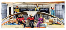 Load image into Gallery viewer, Star Trek  The Next Generation 25th Anniversary - Make it So.  Poster Print By Jim Ferguson