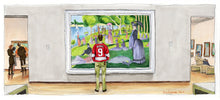 Load image into Gallery viewer, Ferris Bueller's Day Off - Sunday Afternoon Art Print Movie Poster By Jim Ferguson