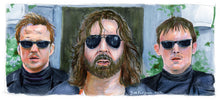 "Load image into Gallery viewer, Boondock Saints - There was a Fire Fight 5""x11"" Poster Print By Jim Ferguson"