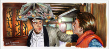 Load image into Gallery viewer, Back to the Future - Don't Say a Word  Poster Print By Jim Ferguson