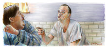 Load image into Gallery viewer, One Flew Over the Cuckoo's Nest - Come On Play the Game Poster Print By Jim Ferguson