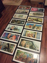 "Load image into Gallery viewer, 3 Framed 12""x24"" Jim Ferguson Movie Prints By Jim Ferguson"