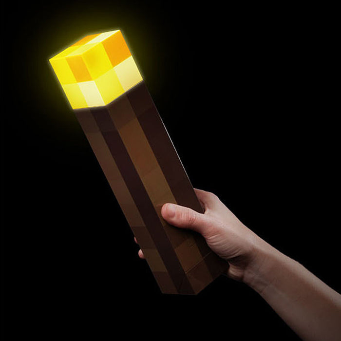 🔥Light Up Minecraft Torch