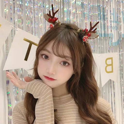 🎄Christmas Promotion🎄Christmas Headdress Antler Hairpin