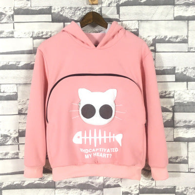 Sweatshirt Cat Pouch Hoodie 【Buy 2 Get Extra 10% Discount】
