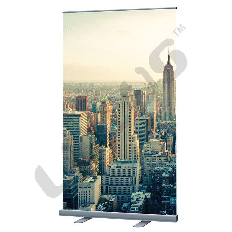 "Economy Roll Up 24"" - 48"" Retractable Banner Stand"