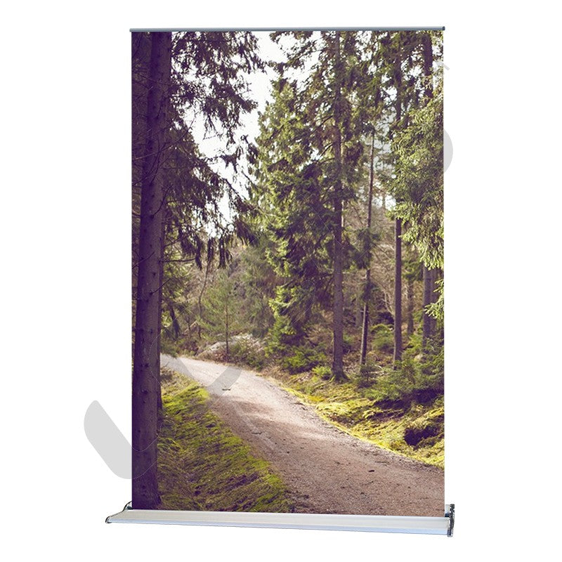 Slim Roll Up - Retractable Banner Stand