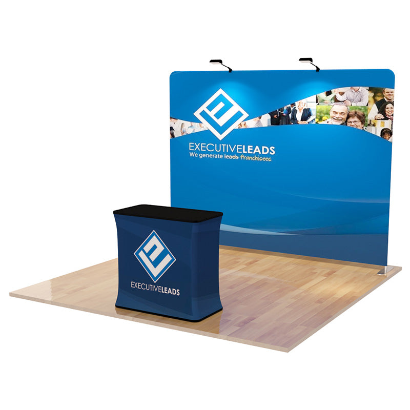 Straight 10ft - Tension Fabric Display Backwall