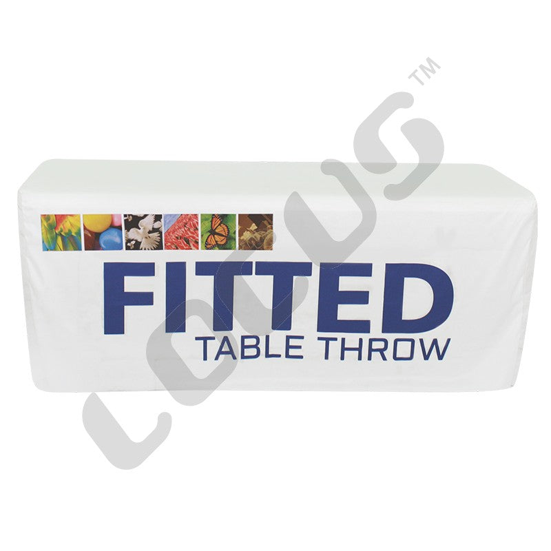 Fitted - Fabric Table Throw