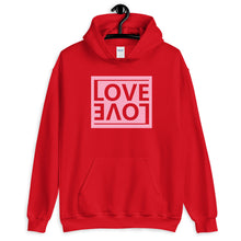 "Load image into Gallery viewer, ""Love"" Unisex Hoodie"