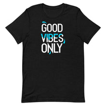 "Load image into Gallery viewer, ""Good Vibes Only"" Short-Sleeve Mens T-Shirt"