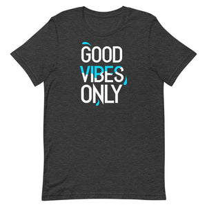 """Good Vibes Only"" Short-Sleeve Mens T-Shirt"