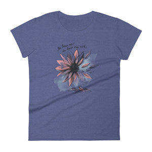 """He Loves me not, He Loves Me"" Women's short sleeve t-shirt"