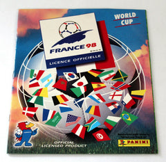 Panini world cup 1998 sticker collection