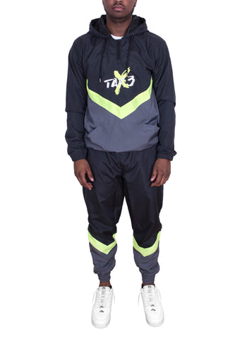 Spacesuit Tracksuit - Grey/Green