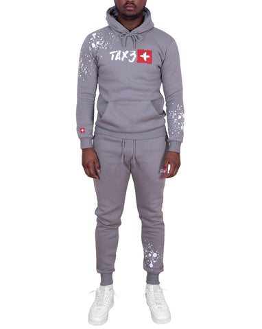 Splash Tracksuit - Steel Grey