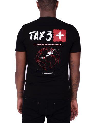 Tax3 'To The World And Back' T-shirt