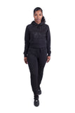 Women's Its Relevant 2.0 Hoodie - Triple Black