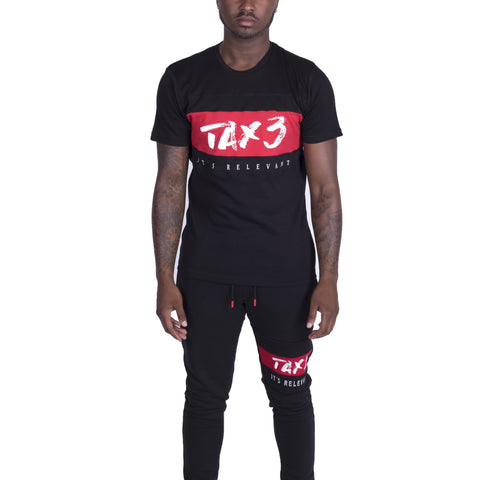 Its Relevant 2.0 T-shirt - Black-Red