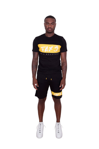 Its Relevant 2.0 Twinset - Black-Yellow