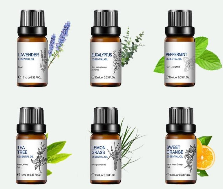 Pure Essential Oils 10ML Gift Set