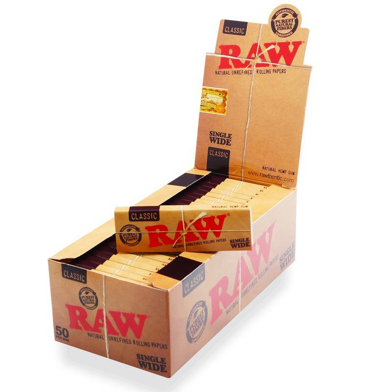 Raw Classic Single Wide Rolling Paper-