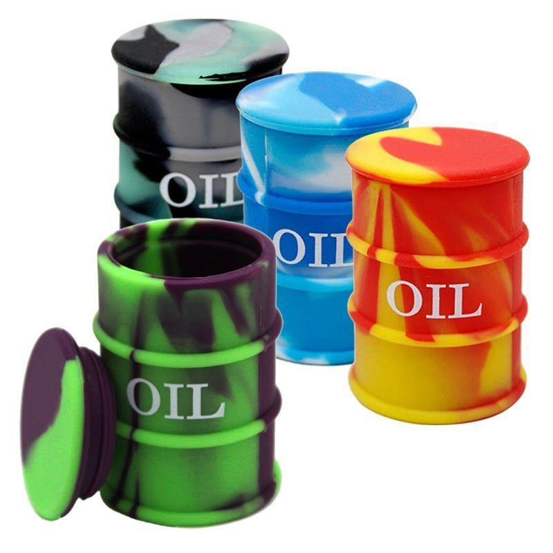 27 ML Silicone Oil Drum Barrel Containers