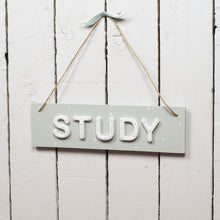 Study sign - Florence and Grace Personalised Gifts