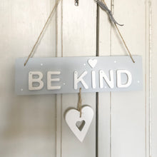 Be Kind Sign Door Plaque - The Little Sign Company Personalised Gifts