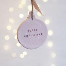 Christmas bauble decorations - Florence and Grace Personalised Gifts