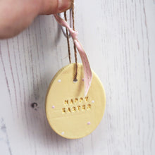 Happy Easter Egg Decoration - Florence and Grace Personalised Gifts