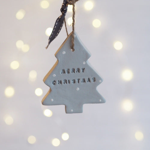 Christmas tree decorations - Florence and Grace Personalised Gifts