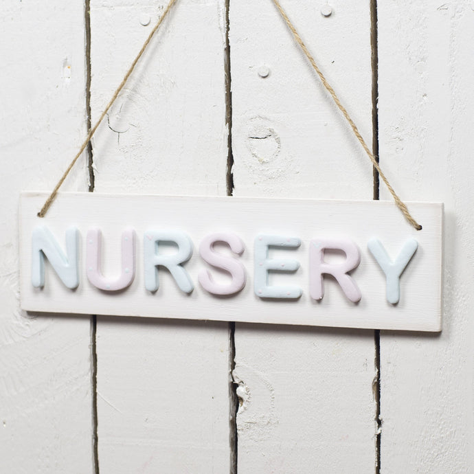 Nursery Sign - Florence and Grace Personalised Gifts
