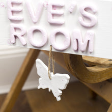 Personalised Butterfly Room Sign - Florence and Grace Personalised Gifts