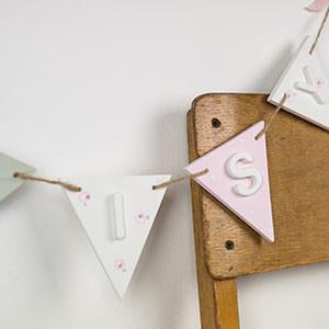 Personalised Name Bunting - Florence and Grace Personalised Gifts