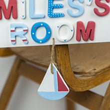 Personalised Nautical Room Sign - Florence and Grace Personalised Gifts