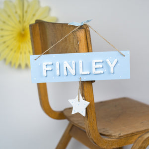 Personalised Star Name Sign - Florence and Grace Personalised Gifts