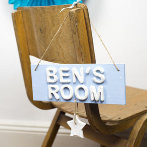 Personalised Star Room Sign - Florence and Grace Personalised Gifts