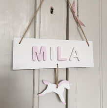 Personalised Unicorn Name Sign - Florence and Grace Personalised Gifts